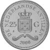 25 Gulden Zilver