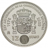 12 Euro Herdenkingsmunten Spanje