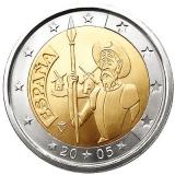 2 Euro Herdenkingsmunten Spanje