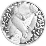 1 Dollar / 1oz Zilver.