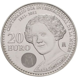 20 Euro Herdenkingsmunten Spanje