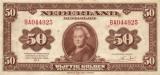 Bankbiljetten 50 Gulden