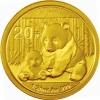 China 20 Yuan Goud