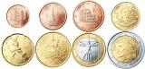 Unc munten Italië