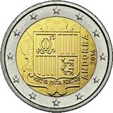 Euromunten Andorra