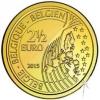 2½ Euro Herdenkingsmunten België