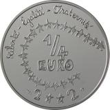 ¼ Euro Herdenkingsmunten Frankrijk
