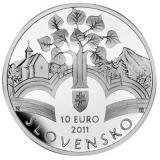10 Euro Herdenkingsmunten Slowakije