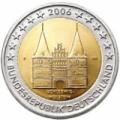2 Euro Herdenkingsmunten Duitsland