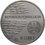 8 Euro Herdenkingsmunten Portugal