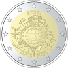 2 Euro Herdenkingsmunten Estland