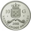 10 Gulden Zilver