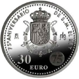 30 Euro Herdenkingsmunten Spanje