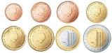 Unc munten Nederland