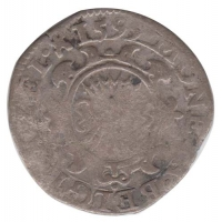Zeeland 1⁄20 (Leicester)reaal of stoter 1595
