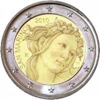 San Marino 2 euro 2010