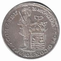 Zeeland Zilveren Dukaat 1748 Piedfort