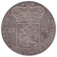Zeeland Zilveren Dukaat 1775