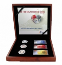 Nederland  Zilveren 200 Jaar Nederlansche Bank set 2014 Proof