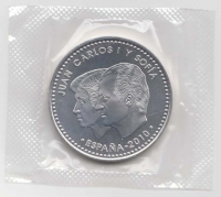 Spanje 20 euro 2010 Unc