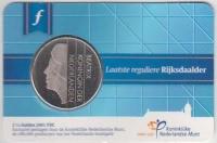 Nederland Coincard 2015 Laatste Rijksdaalder