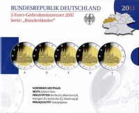Duitsland 2 euro 2011 Proof