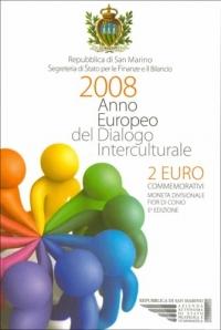 San Marino 2 euro 2008