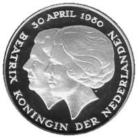 1 Gulden 1980
