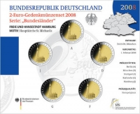 Duitsland 2 euro 2008 Bu