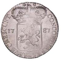 Zeeland Zilveren Dukaat 1787