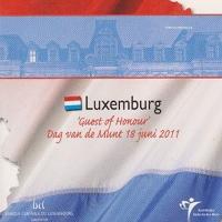 Dag van de Munt-set 2011 Luxemburg