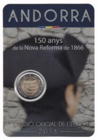 Andorra 2 euro 2016 I