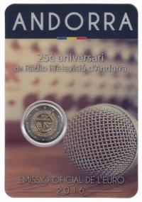 Andorra 2 euro 2016 II