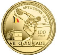 België 2½ euro 2020 II Kleur