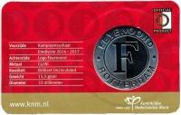 Nederland Coincard 2017 Feyenoord