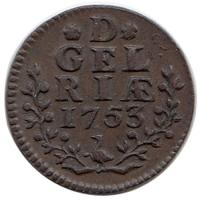 Gelderland Duit 1753