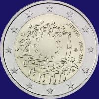 Litouwen 2 euro 2015 I