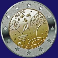 Malta 2 euro 2020 II Unc