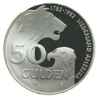 50 Gulden 1982 Proof