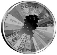 Nederland 5 euro 2008 Proof
