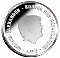 Nederland 5 euro 2017 II Proof