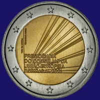 Portugal 2 euro 2021 I Unc