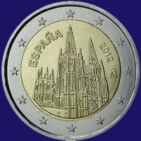 Spanje 2 euro 2012 II Unc