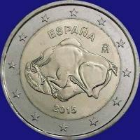 Spanje 2 euro 2015 II Unc