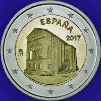 Spanje 2 euro 2017 I Unc