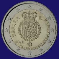 Spanje 2 euro 2018 II Unc