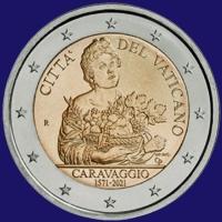 Vaticaan 2 euro 2021 I Bu.