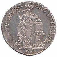 West Friesland 3 Gulden 1793 uit 1785