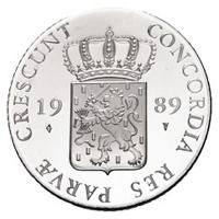 Zilveren Dukaat 1989