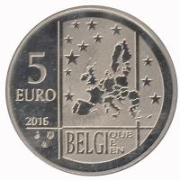 België 5 euro 2016 Bu